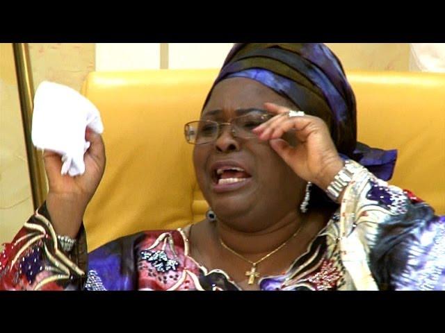 Chibok Girls: First Lady Breaks Down In Tears - YouTube