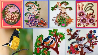 ☑️Paper Quilling Art ⏭ quilling designs for Latest Projects....