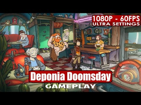 Deponia Doomsday gameplay PC HD [1080p/60fps] |