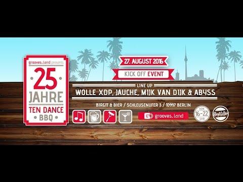 Ten Dance/ Grooves Inc. feiert sein 25-jähriges Jubiläum bei Birgit & Bier 27.08.2016