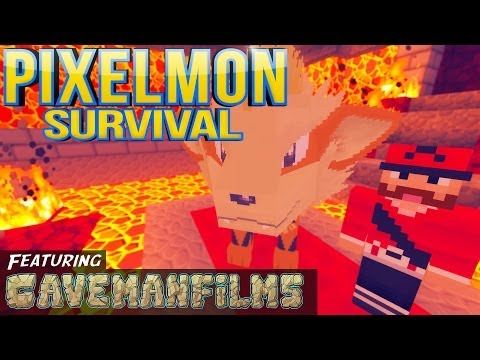 Minecraft Pixelmon [Season 2: Part 47] - Hot For Leader Rematch! Feat. Cavemanfilms