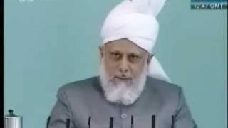Проповедь Хазрата Мирзы Масрура Ахмада, (07-05-10) часть 4