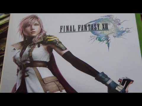 Unboxing Final Fantasy XIII (Xbox 360)
