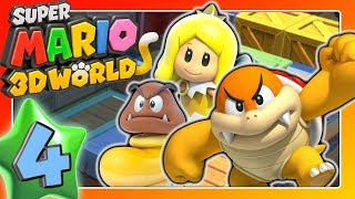 "Double-cherry, tank & ""overstrained in Berlin story"" 🐱 SUPER MARIO 3D WORLD Part 4"