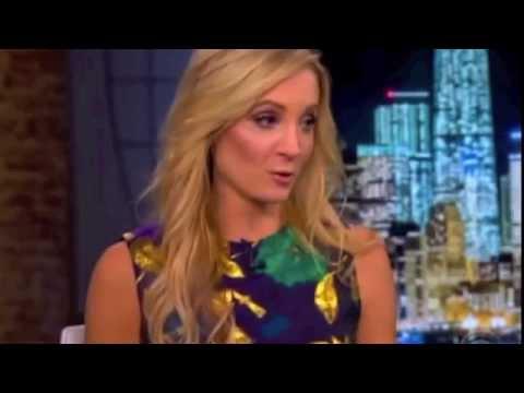 Joanne Froggatt of Downton Abbey on the Late Late Show 29 Jan 2015