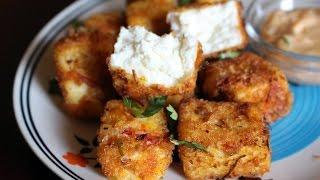 Crispy Coconutty Paneer Popcorn Recipe in Tamil