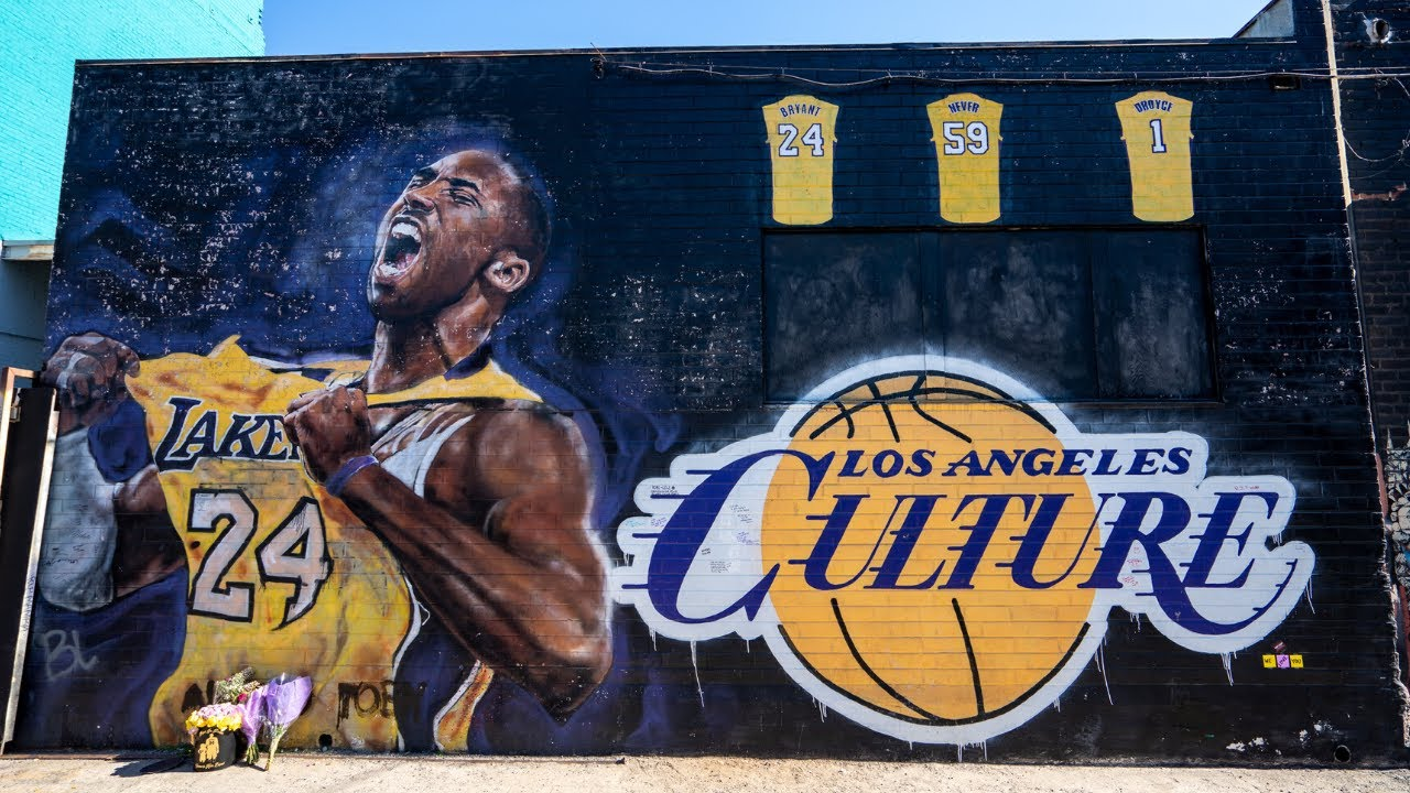 Visiting 20 Kobe Bryant Murals in Los Angeles
