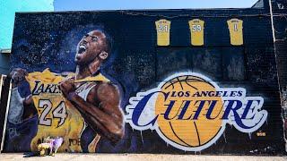 Visiting 20 Kobe Bryant Murals in Los Angeles