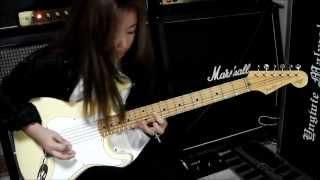 Yngwie Malmsteen - #2 Fugue(Nylon Strings ver.)  桜花 SAKURA 11 years old
