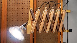 Extendable Scissor Lamp