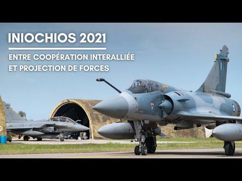 [WEBTVAIR] Épisode 38 - Iniochos 2021 : Entre coopération interalliée et projection de forces