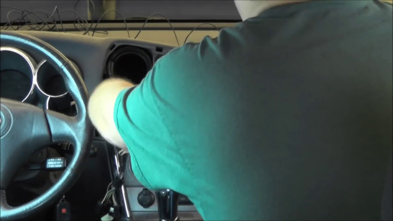 2004 Toyota Matrix Radio Upgrade - YouTube
