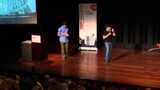Co-building the future: Marc Subirana y Bartomeu Jané at TEDxBarcelona