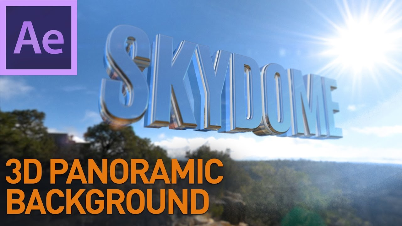 3d panoramic background in after effects youtube 3d panoramic background in after effects voltagebd Images