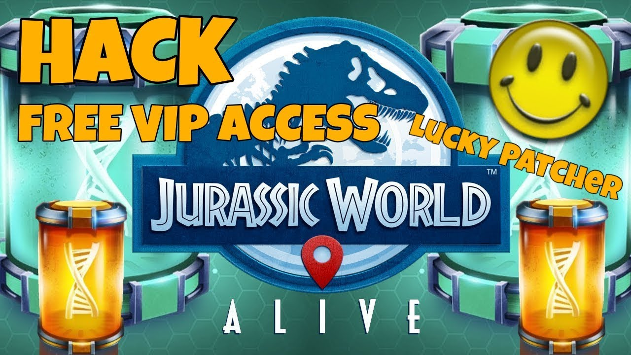 How To Hack Jurassic World Alive With Lucky Patcher (ONLY VIP ACCESS  WORK!!!)