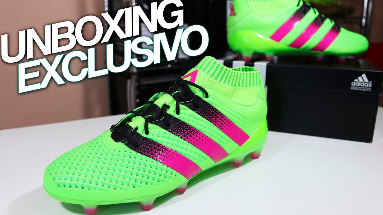 Adidas ACE 16 + Primeknit Exclusive Unboxing - James Rodríguez Boots ... d64bd6176c6a8