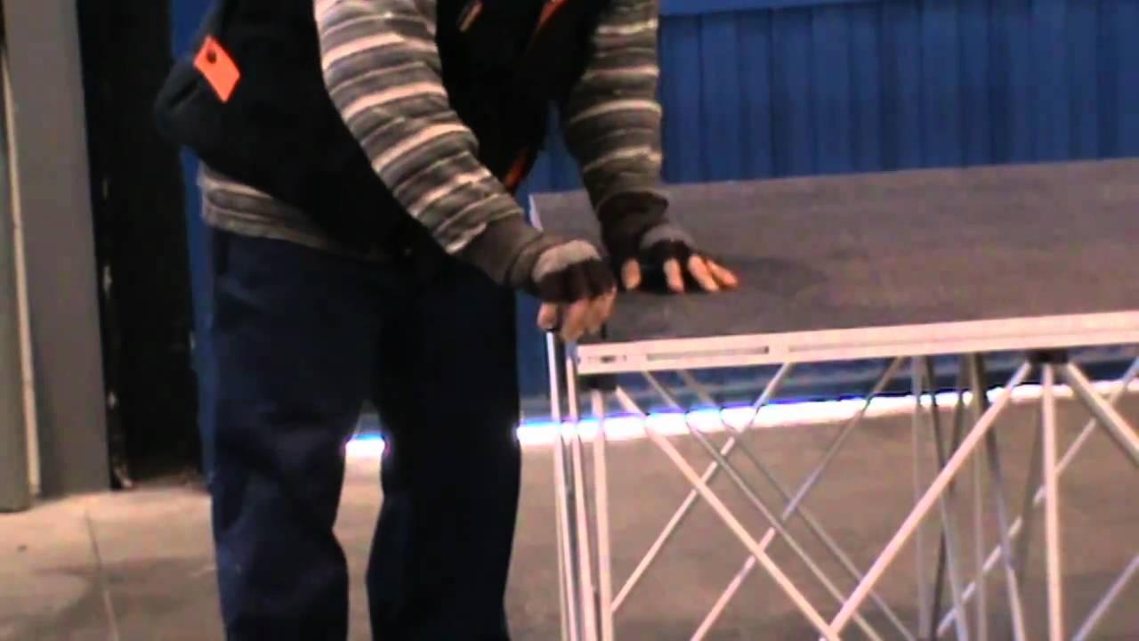 Escenarios Plegables Aluminio