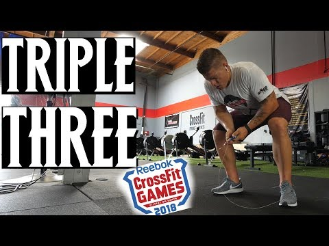 """Trying """"Triple Three"""" CrossFit Games Workout... Ouch"""