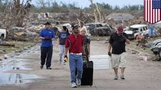 Несколько десятков разрушительных торнадо опустошили американский Средний Запад.