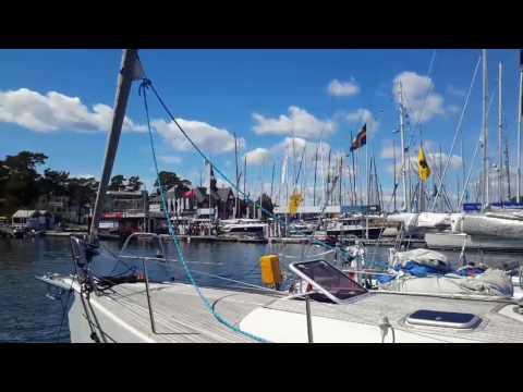 Sandhamn after finish of ÅF Offshore Race, Gotland Runt 2017. Sweden