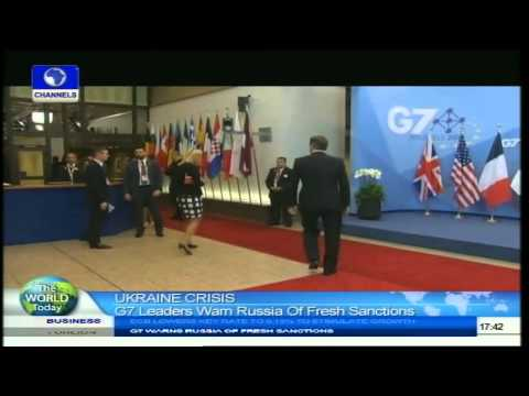 World Today: G7 Leaders Warn Russia Of Freash Sanction Over Ukraine Crisis