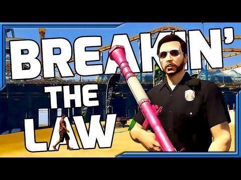 Pain and Pimpus Meet Again | BREAKIN' THE LAW | Ep. 15 (GTA 5 CINEMATIC)