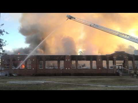 Old Dock Elementary School Fire | The News Reporter