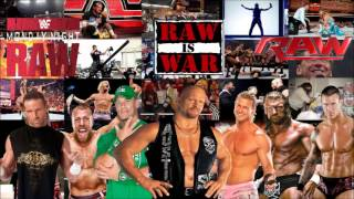 WWF/WWE Monday Night Raw theme songs 1993-2013