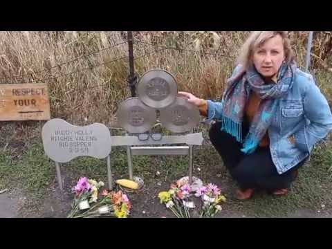 Buddy Holly memorial at the crash site