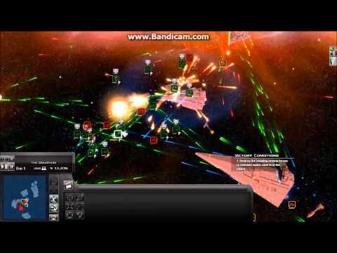 Thrawn's Revenge Massive Space Battle Defence Part 1 HOLD THE LINE