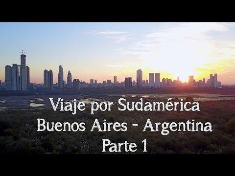 Viaje por Sudamérica - Buenos Aires Argentina (Vistas con Drone)