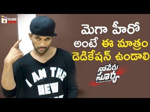 Allu Arjun Cap Tricks | Lover Also Fighter...