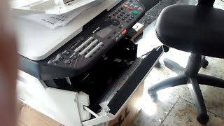 Erro c7990 kyocera (reservatório de resíduos cheio