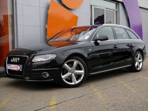 2009 Audi A4 Avant S Line 32 V6 Fsi Quattro Black For Sale In