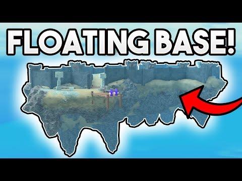 FLOATING ISLAND BASE! | ROBLOX: Booga Booga