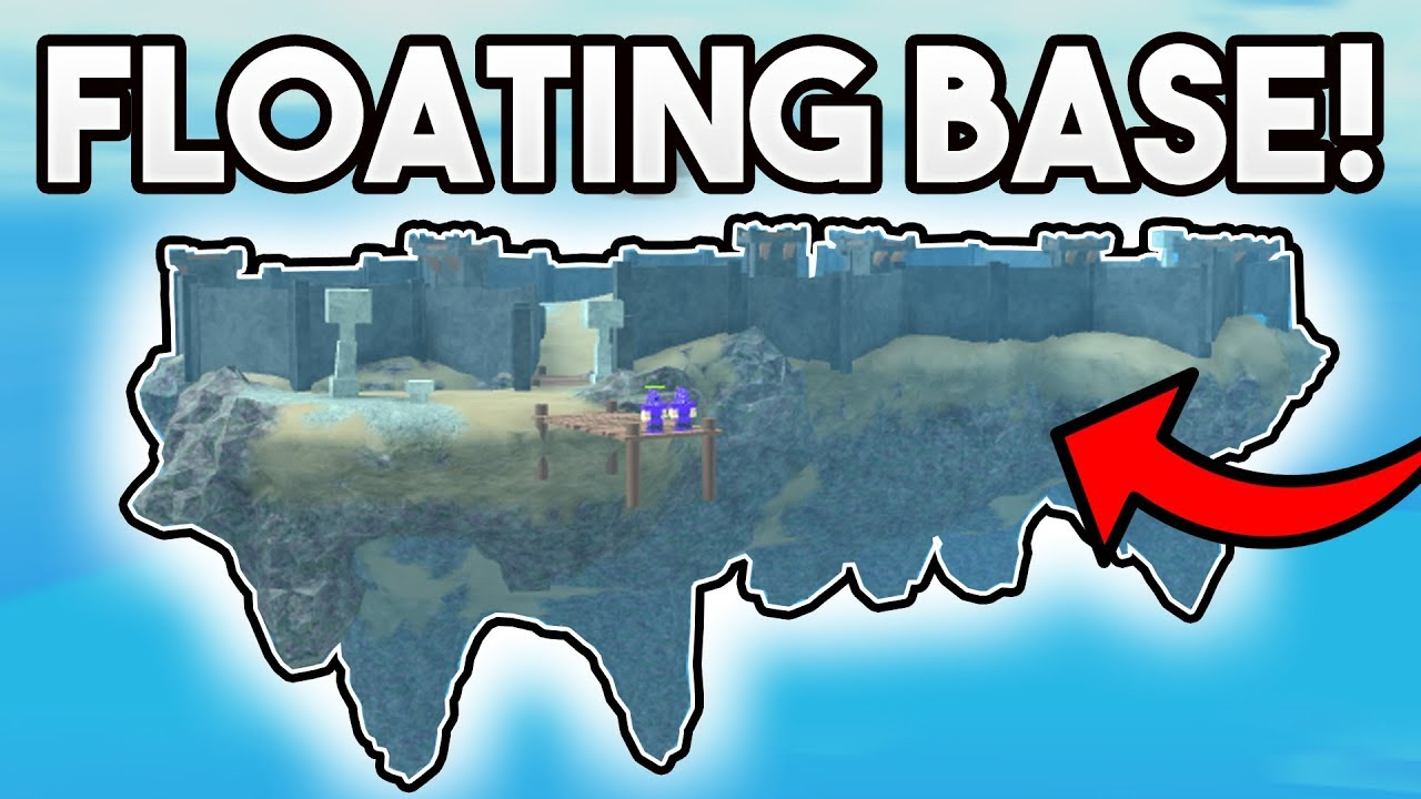 Floating Island Base Roblox Booga Booga Youtube