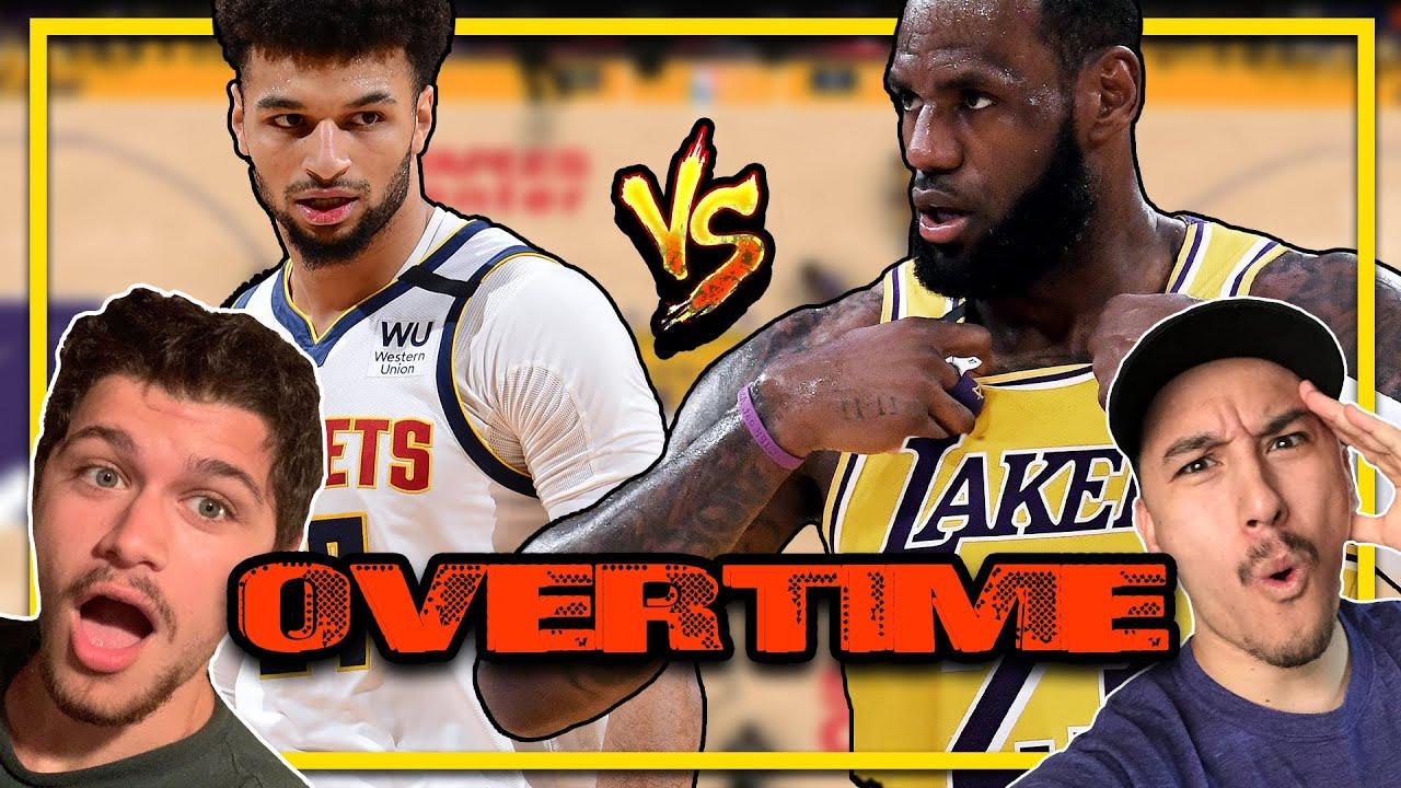 LA Lakers Vs Denver Nuggets Overtime Highlights!