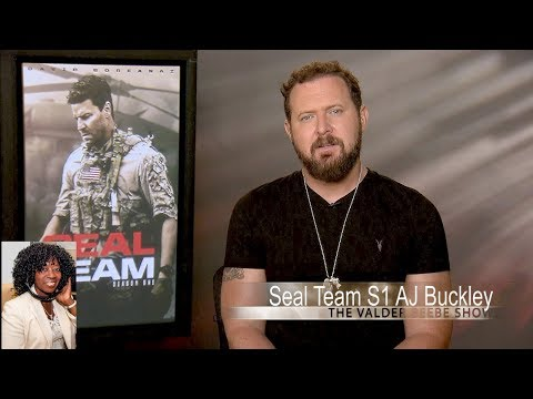 CBS Home Entertainment Seal Team  1 Star A J Buckley