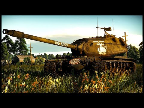 America 7.7 WILL FREE YOU (War Thunder Tanks Gameplay)