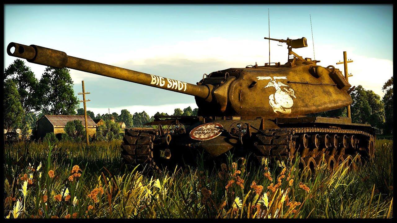 America 7.7 WILL FREE YOU (War Thunder Tanks Gameplay) - YouTube