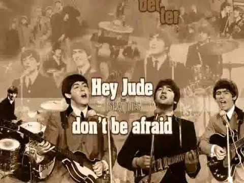The Beatles - Hey Jude (lyrics video)