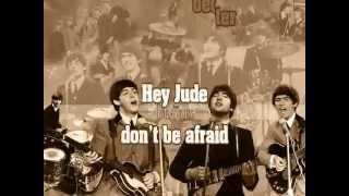 The Beatles - Hey Jude (lyrics video)