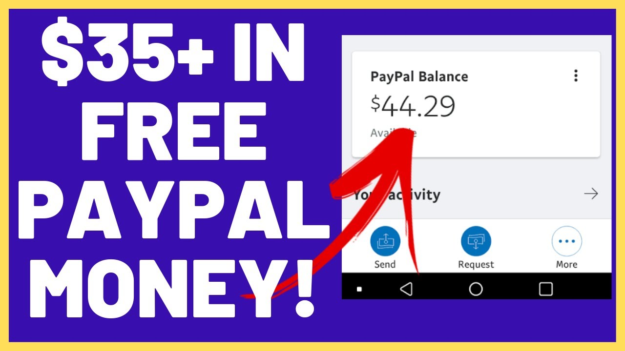 New Free Paypal Money Method 35 In Paypal Money Free No Free Paypal Money Cash Codes Needed Youtube