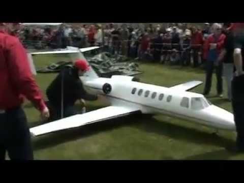 RC Jet - Cessna Citation CJ2 - Turbine Power - Big
