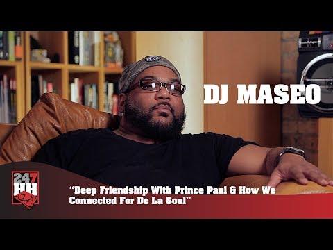 DJ Maseo - Deep Friendship With Prince Paul & How We Connected For De La Soul (247HH Exclusive)