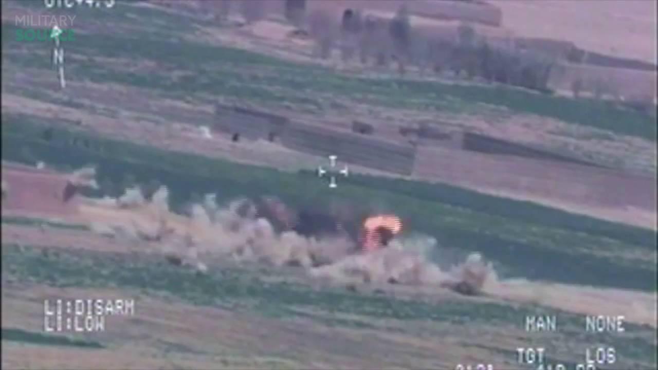 A-10 Warthog Strikes On Taliban