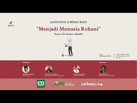 Launching dan Bedah Buku 'Menjadi Manusia Rohani'