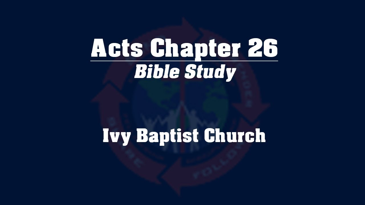 Study chapter 26