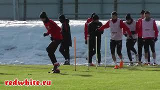 Открытая тренировка Спартака перед матчем с Тосно