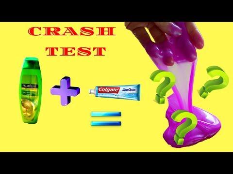 Peut-on faire du slime avec du dentifrice et du shampoing ???crash test